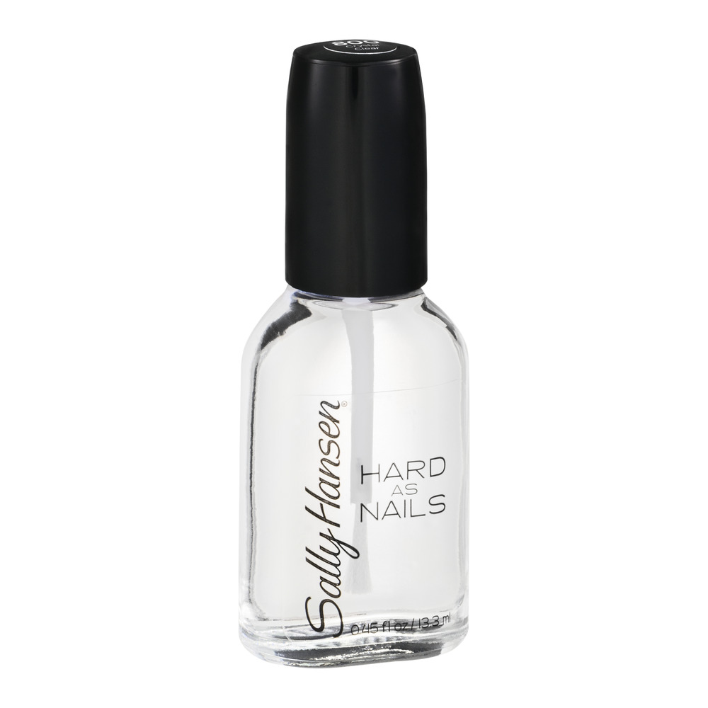 Sally Hansen Hard as Nails Crystal Clear, 0.45 FL Oz - Walmart.com