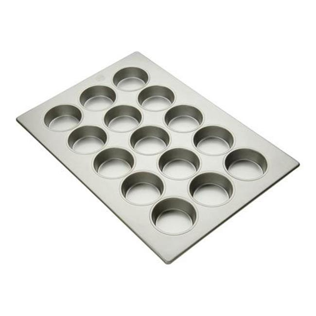 FocusFoodService 904705 3. 69 inch Pecan Roll Pan - 20 Cup - Pack of 3
