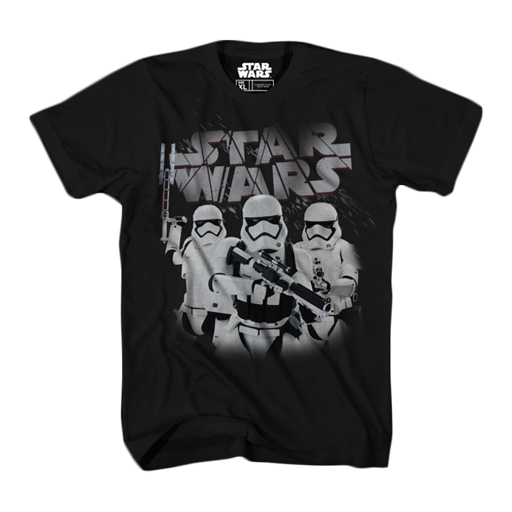 Star Wars: The Last Jedi Trooper Gang Graphic T-Shirt | 2XL