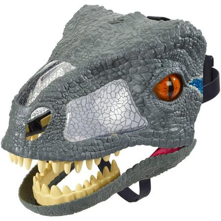 Saw Characters Mask (Jurassic World Chomp 'n Roar Mask Velociraptor)