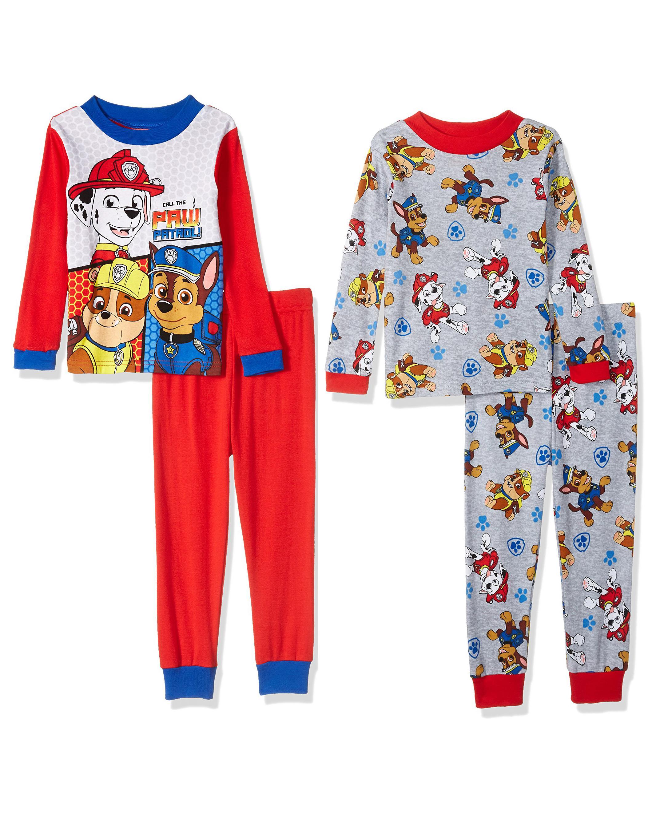 Nickelodeon Baby Boys Paw Patrol 2-Piece Fleece Pajama Set