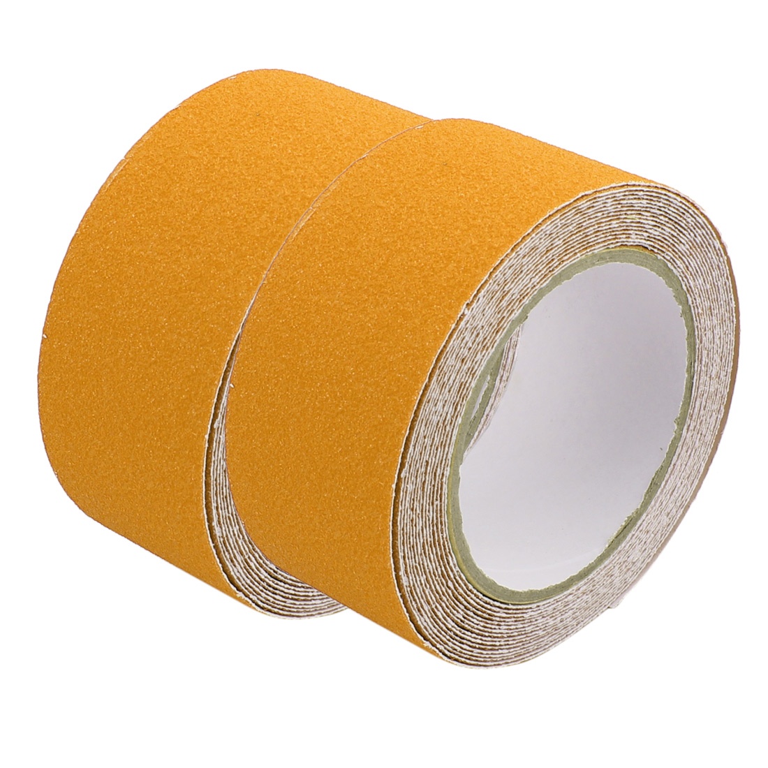 2Pcs Yellow Non-Slip Grip Tape Safety High Traction Indoor Outdoor 50mmx5m