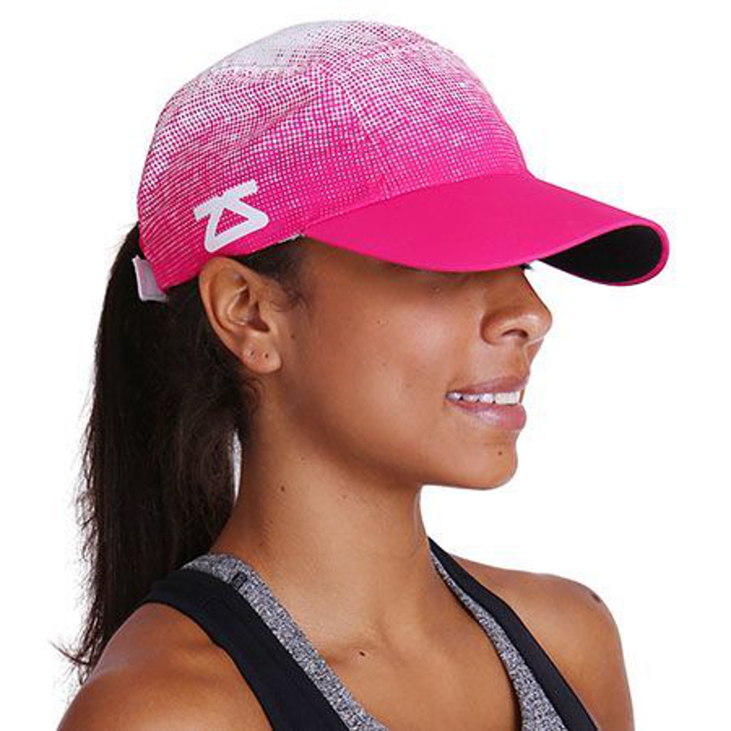 Zensah Running Hat  Pink  One Size