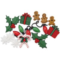 Jesse James 7332983 Dress It Up Holiday Embellishments-christmas