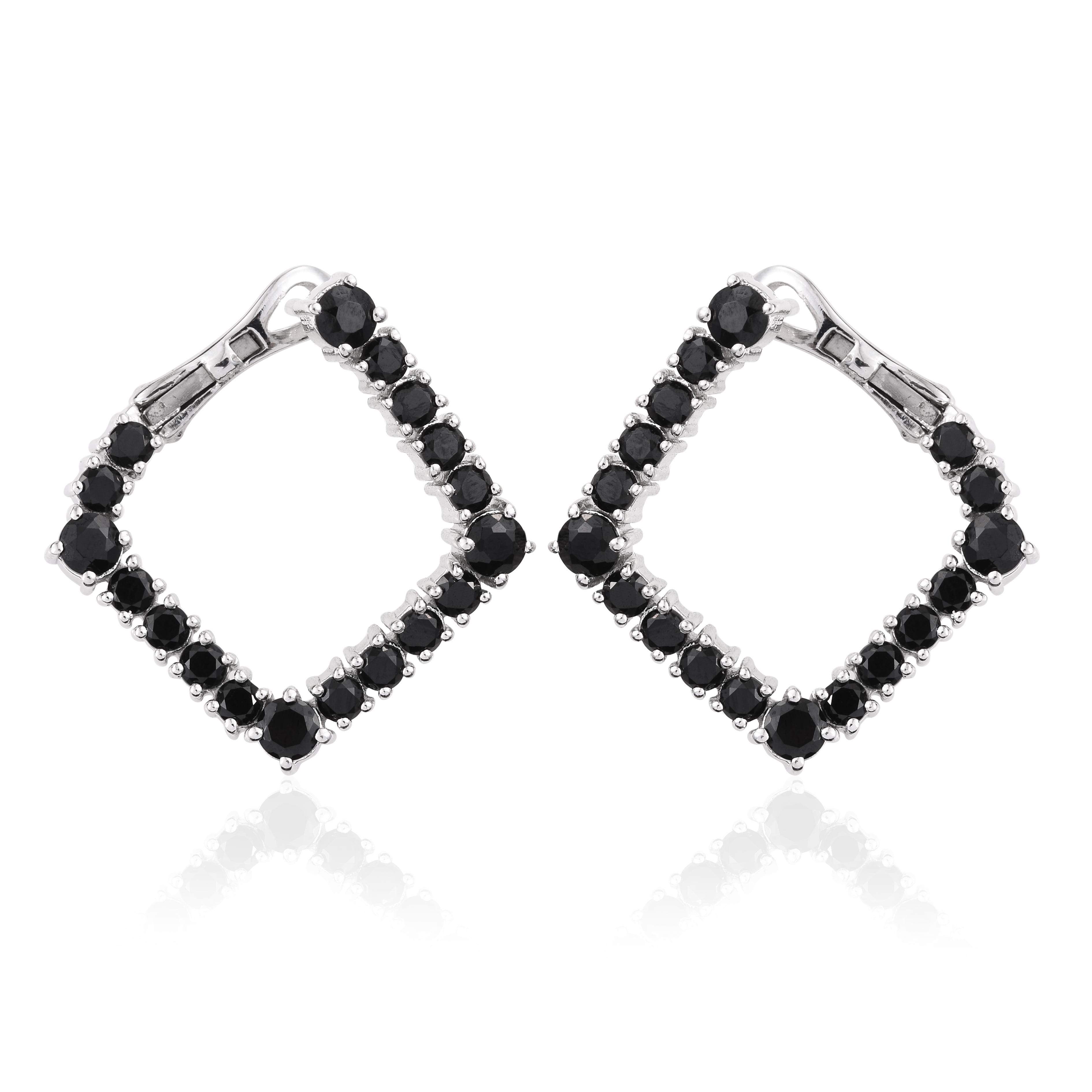 Sterling Silver 925 Hoops Hoop Earrings For Women Hypoallergenic Gift Jewelry