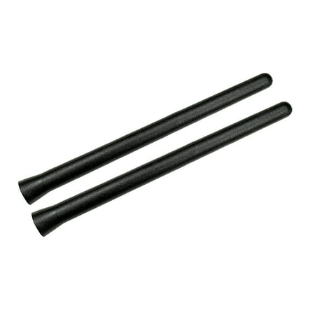 TheAntennaSource - THE ORIGINAL 6 3/4 INCH for 2014-2018 Harley Davidson Touring Street Glide Special FLHXS - 2 PACK - SHORT Rubber Antenna - Reception Guaranteed - German (2014 Street Glide Vs Street Glide Special)