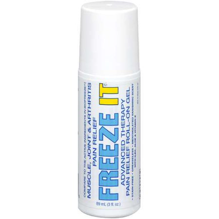 Pain relief roll on gel