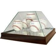 5-Ball Glass Pyramid Baseball Case