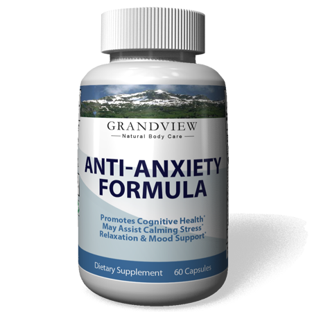 Natural Anxiety Formula   Stress Support Supplement   With All Natural Ingredients That Helps Manage Stress And Soothe The Mind  Boosts Serotonin To Keep You Calm And Happy