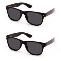 V.W.E. Classic Outdoor Reading Sunglasses - Comfortable Stylish Simple Readers Rx Magnification