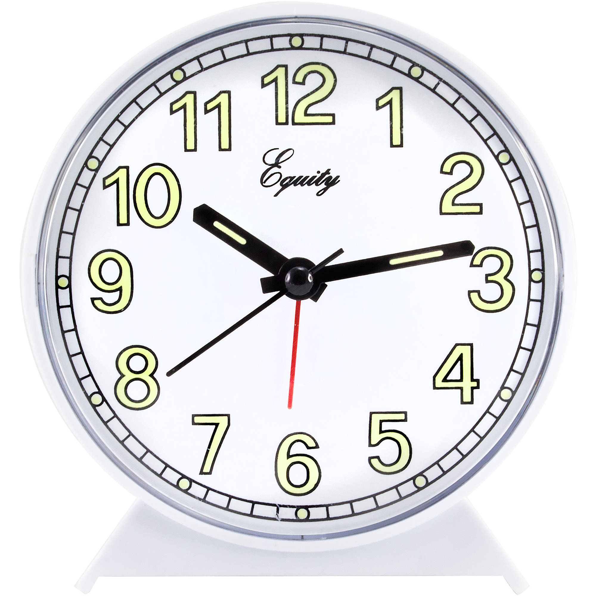Equity by La Crosse Analog Quartz Alarm Clock