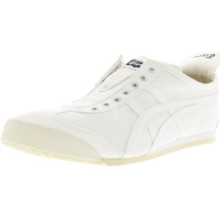 more photos 6d08b 705b4 Onitsuka Tiger Mexico 66 Slip-On White / Ankle-High Canvas Running Shoe -  13.5M 12M