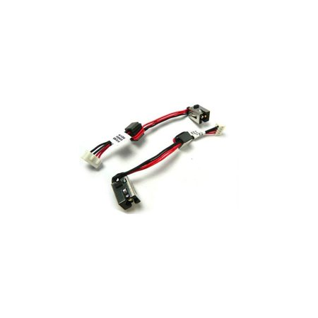 New AC DC Power Jack Plug Socket Cable Harness for Toshiba Satellite C850 C850D C855 C855D P/N: (Ac Jacks Plugs)