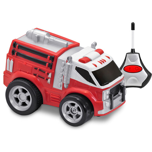 Kid Galaxy Soft, Safe and Squeezable Remote-Control Fire Truck by Kid Galaxy