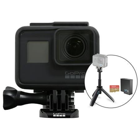GoPro HERO7 Black Waterproof 4K Camera Camcorder + Battery 32GB Special Bundle