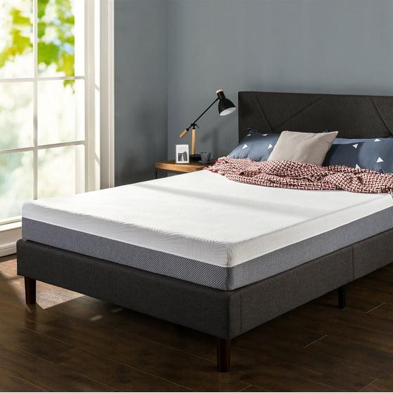 spa sensations 8 inch eco sense memory foam mattress by zinus. Black Bedroom Furniture Sets. Home Design Ideas