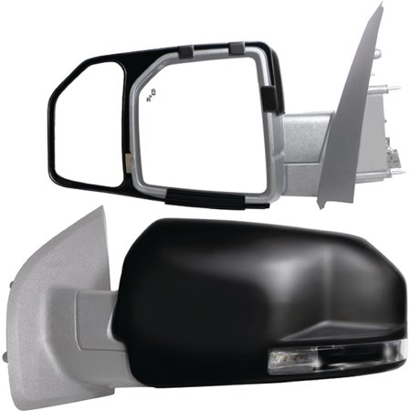 81850 - Fit System 15-17 Custom Fit Towing Mirror - Ford F150, Driver Side & Passenger Side