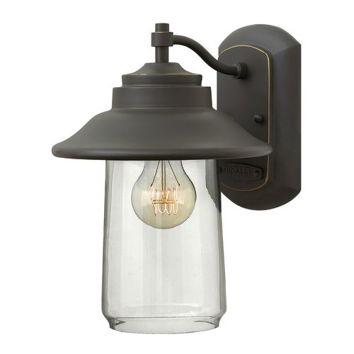 """Hinkley Lighting 2860 11"""" Height 1-Light Lantern Outdoor Wall Sconce from the Belden Place Collection"""