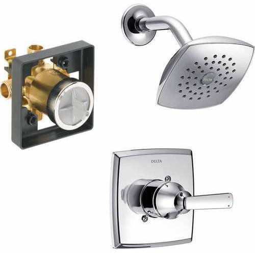 Delta Ashlyn Single Function Shower Faucet, Available in Various Colors