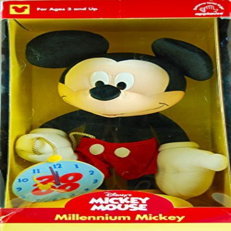 2000 Applause   Disney's Mickey Mouse Millennium Mickey 20 Inch Plush With COA OOP   MIB... by