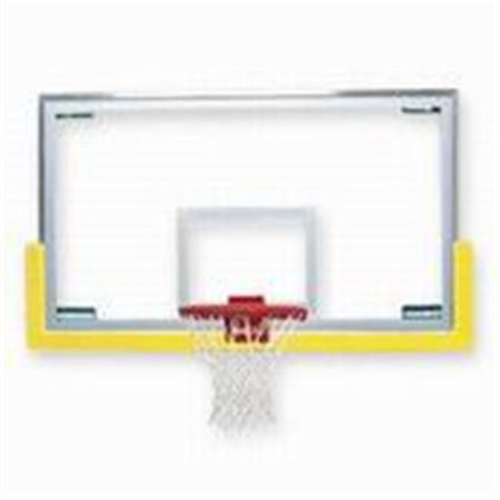 Bison 5150XXXX Unbreakable&No.153 Short Glass Backboard Basketball Backboards