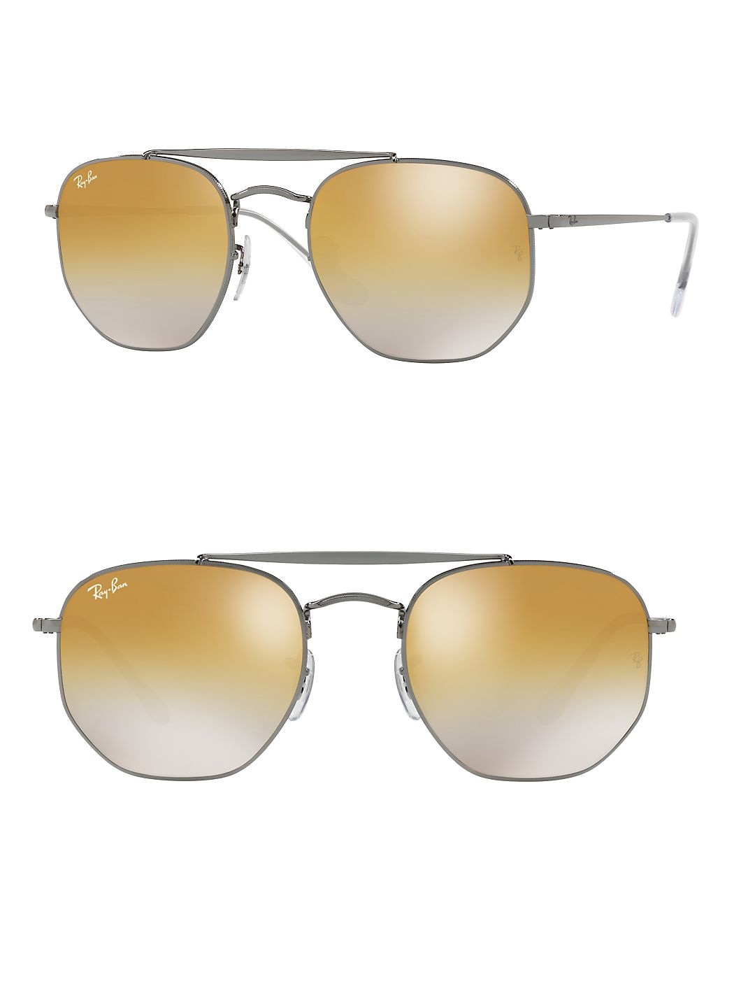 Ray-Ban Unisex RB3648 Marshall Sunglasses, 51mm