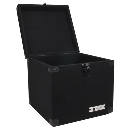 Odyssey CLP090E Carpeted Pro DJ Case w/ Detachable Lid for 90 LP Vinyl Records American Dj Dj Equipment Case