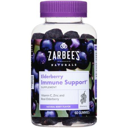 Zarbee S 174 Naturals Elderberry Immune Support Gummies 60