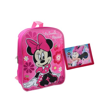 2deae6f46a Disney - Minnie Mouse Flowers Backpack 15