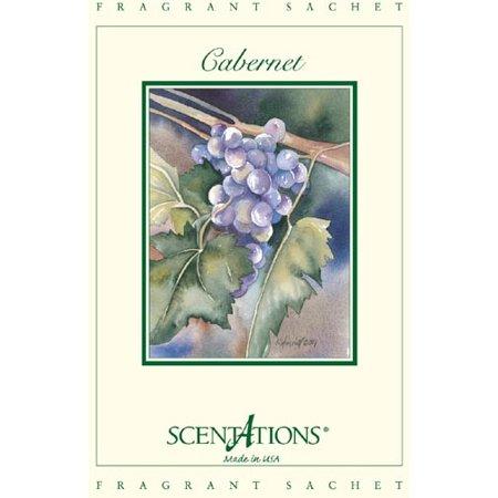 13 Cabernet (Scentations Fragrance Sachet 1.3 Oz. Set of 6 - Cabernet )