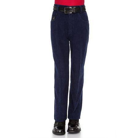 Iron Corduroy Pants - RGM Big Boy's Relaxed Slim Fit Corduroy Pant
