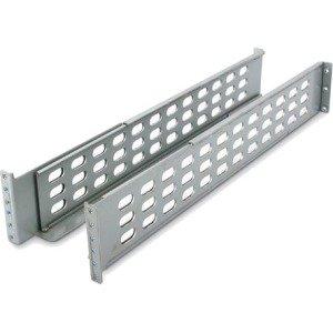 APC 4 Post Rack Mount Rails - Gray (Apc Wall Mount Rack)