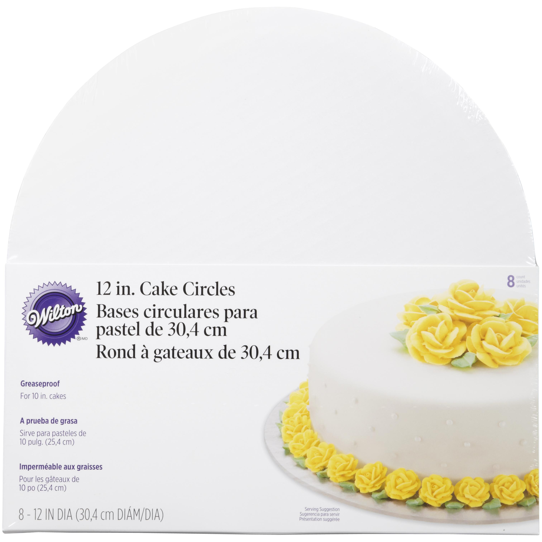 Wilton Cake Circle, 12 inch, 8 pack