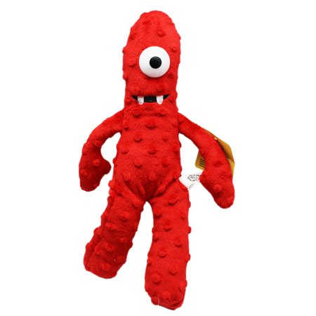Yo Gabba Gabba! Muno Small Red Kids Plush Toy (13in)