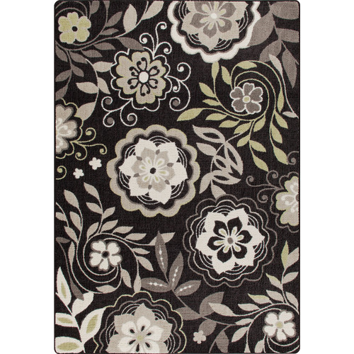 Milliken Mix and Mingle Night Bloom Garden Passage Rug
