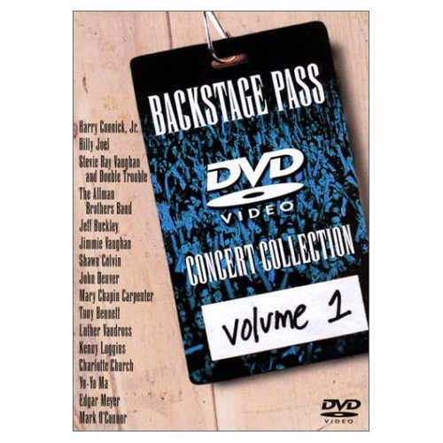 Backstage Pass DVD Concert Collection Vol. 01 by
