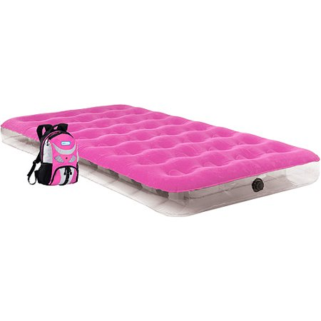Image of Aerobed Kid's Twin Overnighter Air Bed, Pink