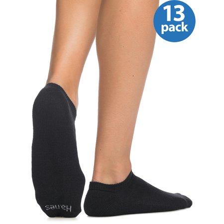 Hanes Men's Cushion FreshIQ No-Show Socks 12 + 1 Bonus Pack (Tmnt Socks)