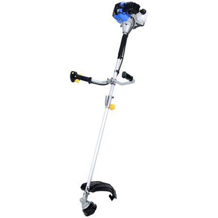 Blue Max 52623 Extreme Duty 2-Cycle Dual Line Trimmer and Brush Cutter, 42.7cc (Trimmer Blue Sparkle)