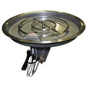 """31"""" Liquid Propane Round Bowl Pan with Round Burner"""