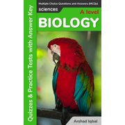 A Level Biology Multiple Choice Questions and Answers (MCQs): Quizzes & Practice Tests with Answer Key - eBook