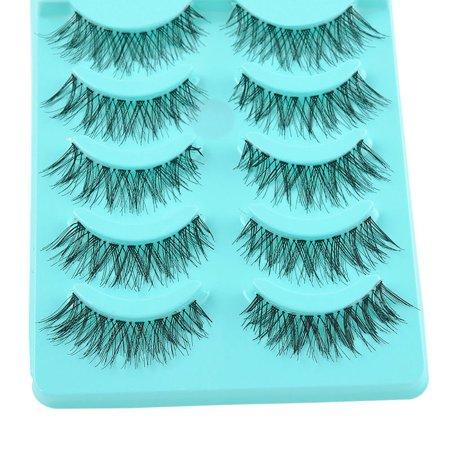 - Big sale! 5 Pair/Lot Crisscross False Eyelashes Lashes Voluminous Hot Eye Lashes