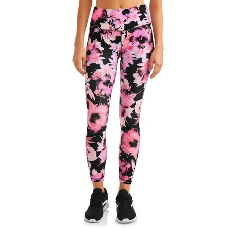 RBX Women's 7/8 Ankle Length Floral Active Leggings