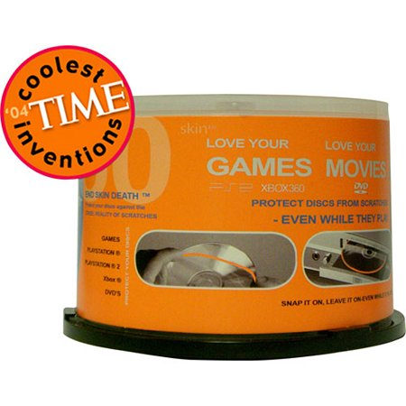 d skin - Video Game Protective Disc Skins, 50-Pack