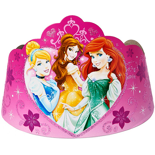Disney Princess Party Tiaras, 8 Count, Party Supplies
