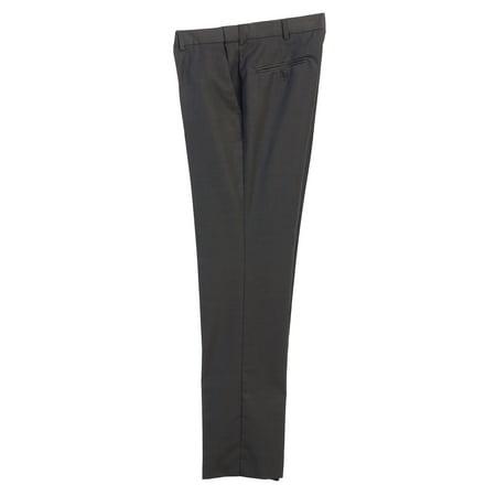 Men's Hidden Expandable Waist Dress Pants