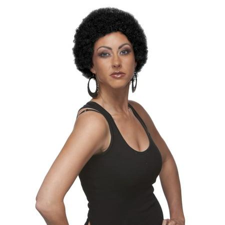 Sepia Costume Mini Afro Synthetic Wig 1 - Mini Costumes