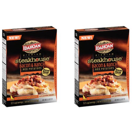 ((2 Pack) Idahoan Premium Steakhouse Bacon & Ranch Red Potatoes, 5.18 oz)