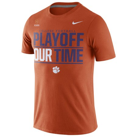 Clemson Tigers Nike 2016 College Football Playoff Bound Our Time T-Shirt - Orange
