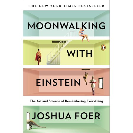 Moonwalking with Einstein : The Art and Science of Remembering - Einstein Moustache